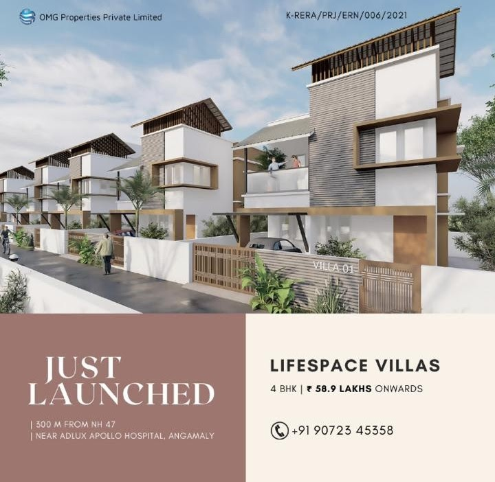 Lifespace Villas for sale in Kochi